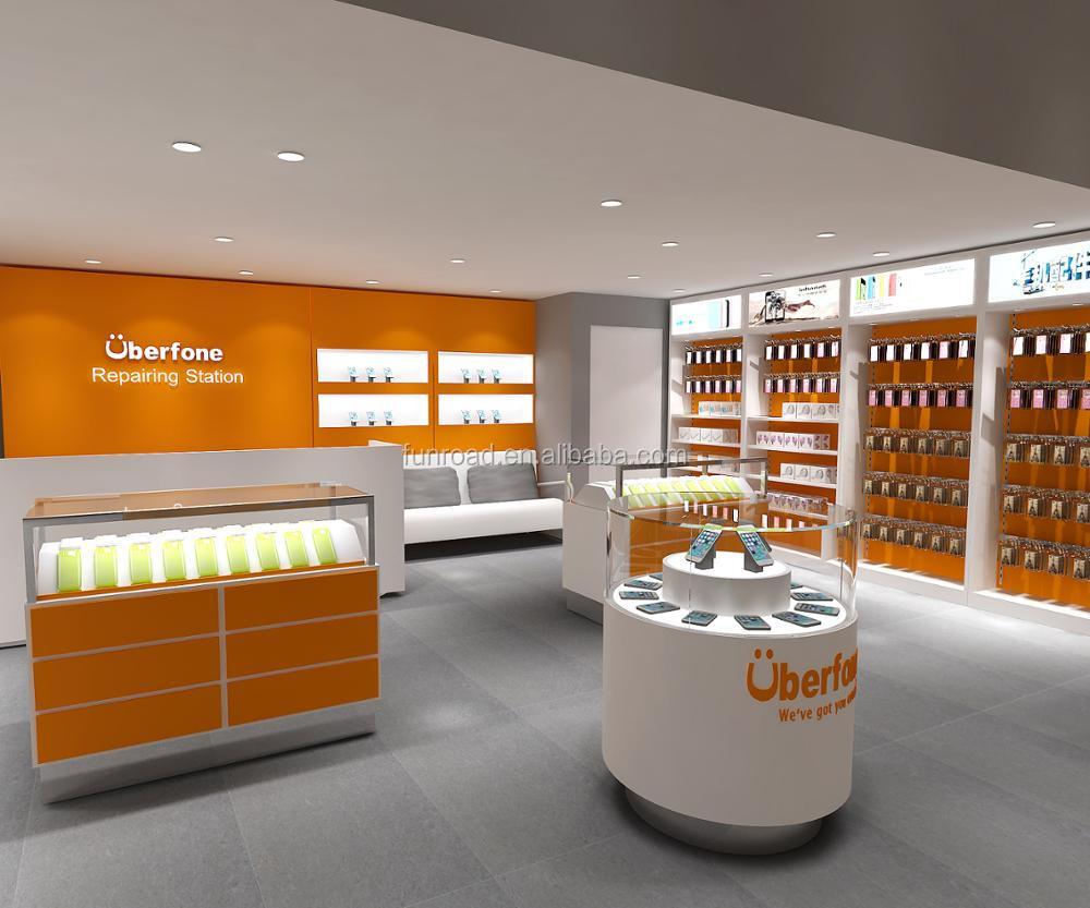 Modern Custom Mobile Phone Shop Interior Design Buy Mobile Phone