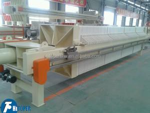 Bentonite slurry treatment hydraulic power press filter manufacturers