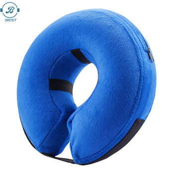 New Design Dog Inflatable Recovery Collar - Protective E-Collar Cone Prevent Pets from Biting Injuries Rashes and Wounds