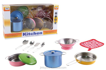 Cooking Set Stainless Steel Kitchen Set Toy Ca038731 Buy