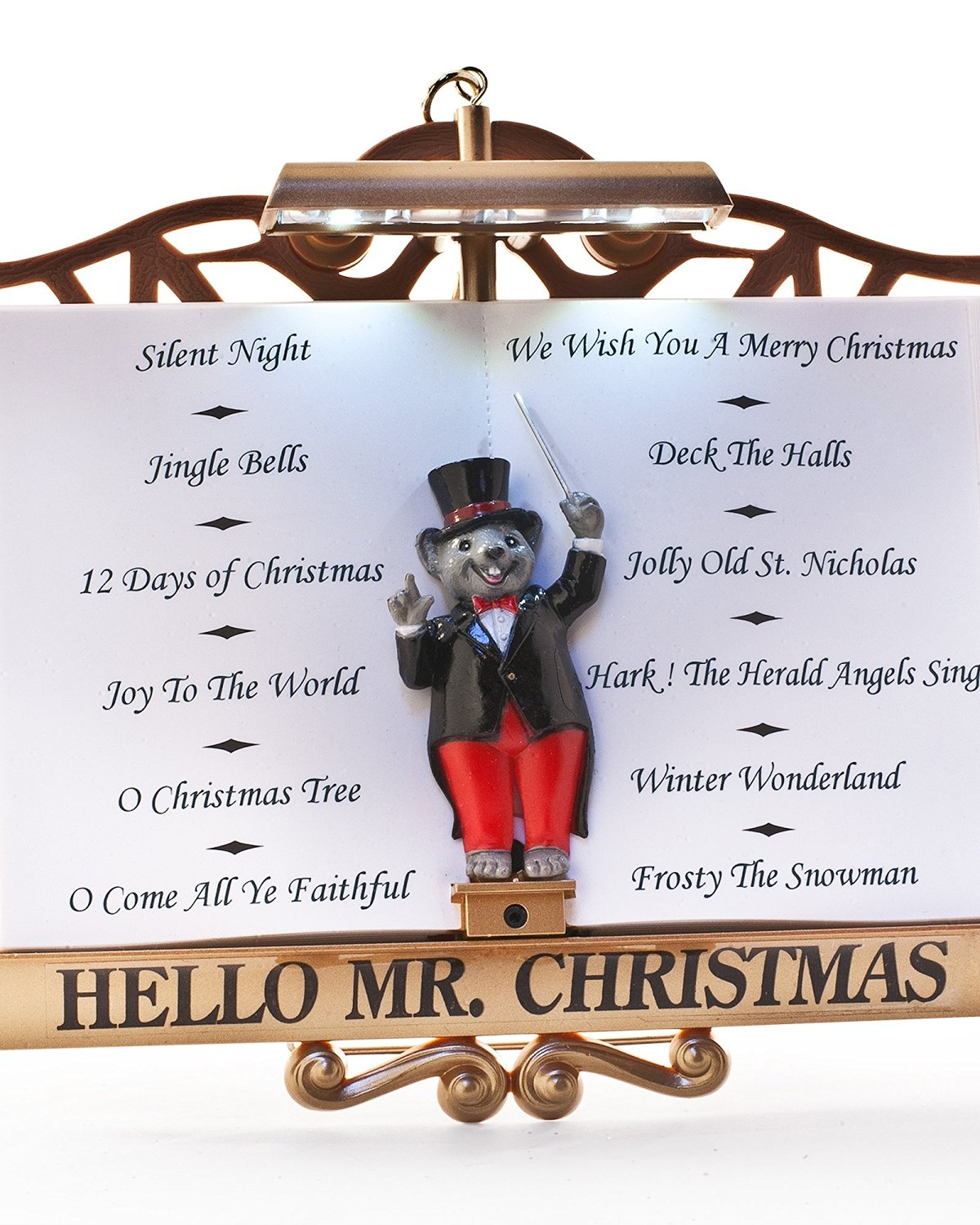 mr christmas maestro mouse presents the lights and sounds of christmas interactive musical light show