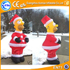 giant inflatable cartoon christmas inflatable homer simpson inflatable christmas hunter santa