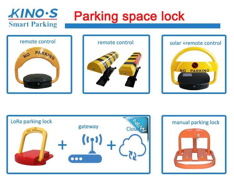 8km Wireless Car Parking Space Lock Automatic Manual Suppliers