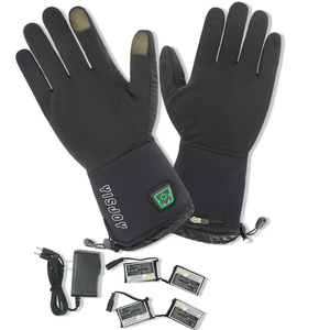 New battery heated hunting gloves battery powered mittens heated gloves for winter