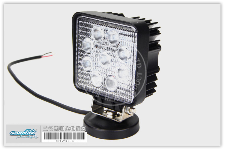 Top Quality Led Work Lamp 27w Cst Car Roof Light Top Light For ...