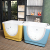 best selling pet bubble swimming pool single glass bathtub