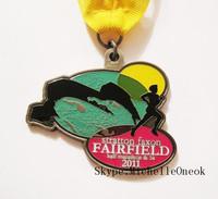 Atlanta Half Marathon medallion,5K run medal