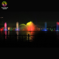 Outdoor Floating Dancing Fountain Music Water Fountains for the Lake
