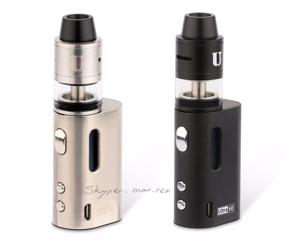 2016 China Supplier 60w E Cig Tc Box Mod Rdta Vw Box Mod Ultra 60w ...