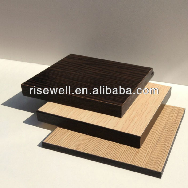Waterproof solid exterior phenolic resin panels