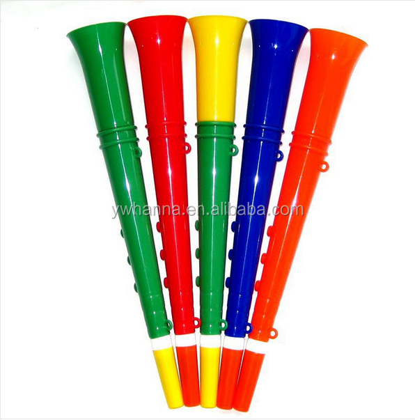 baby shower party long plastic fan horn/plastic cheerleading horn/sports fan horn