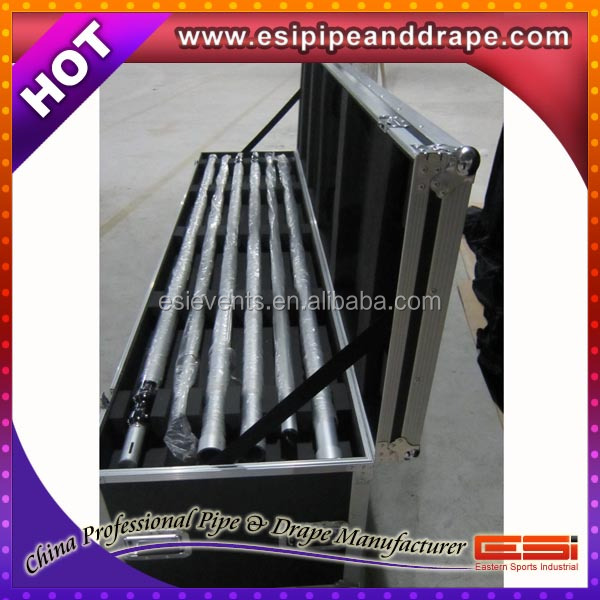 ESI Top quality round pipe and drape stand for wedding hall decorations