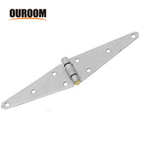 OEM Wholesale Decorative concealed Heavy Strap Hinge for heavy door