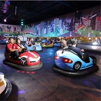 Hot selling funny outdoor amusement park equipment family games fiberglass electric battery dodgem bumper car made in china