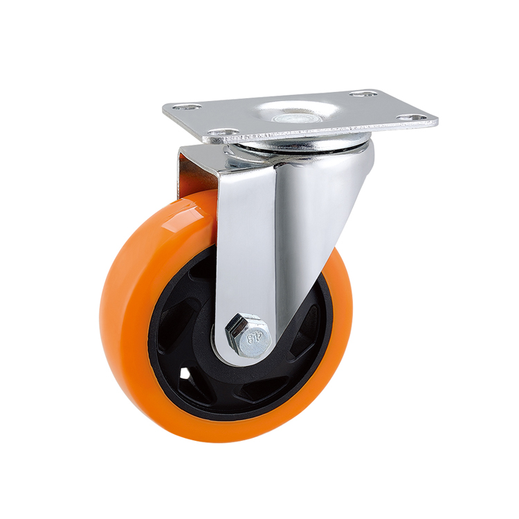 "3"" 4"" 5"" Medium Duty Top Plate Swivel Wheel Caster"