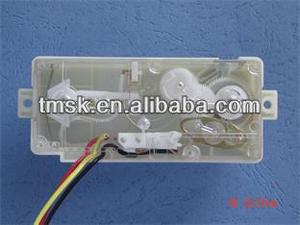 washing machine timer with double shaft
