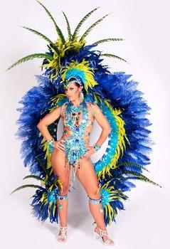 carnival wear silver Sexy