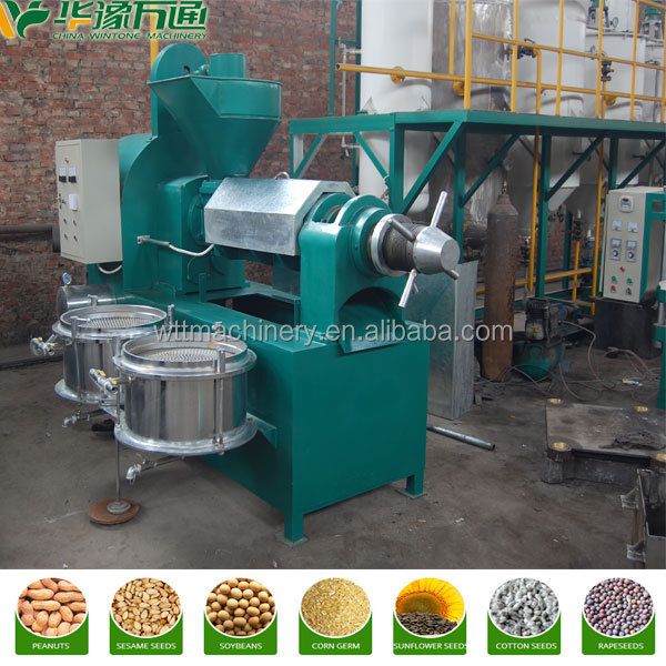 Hot sale corn oil plant with price