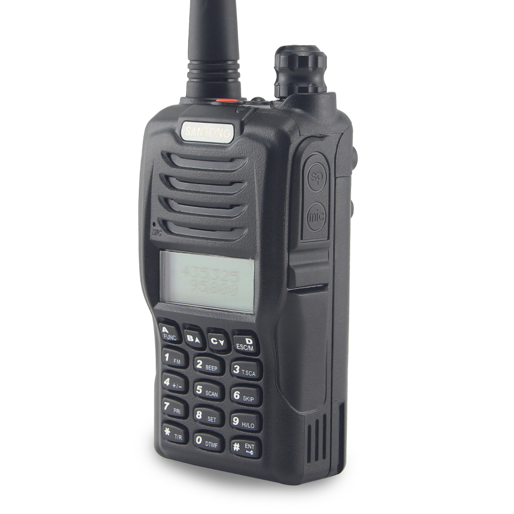 long range handheld vhf radio portable ham two way radio for hunting buy long range handheld. Black Bedroom Furniture Sets. Home Design Ideas