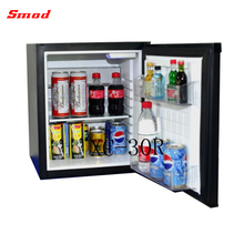 Smad Hotel Use No Noise Auto-defrost Glass Door Mini Absorption Refrigerator