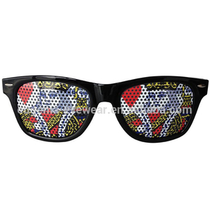 13f7222e276b 2018 new fashion style funny pattern pinhole glasses