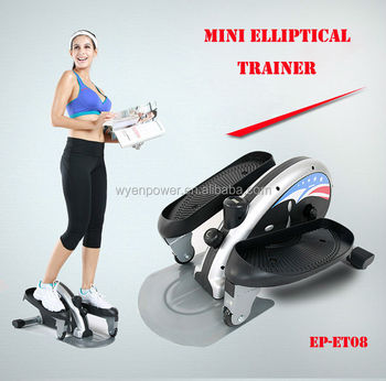 Low Impact Aerobic Workout Firms Mini Elliptical Trainer Exercise
