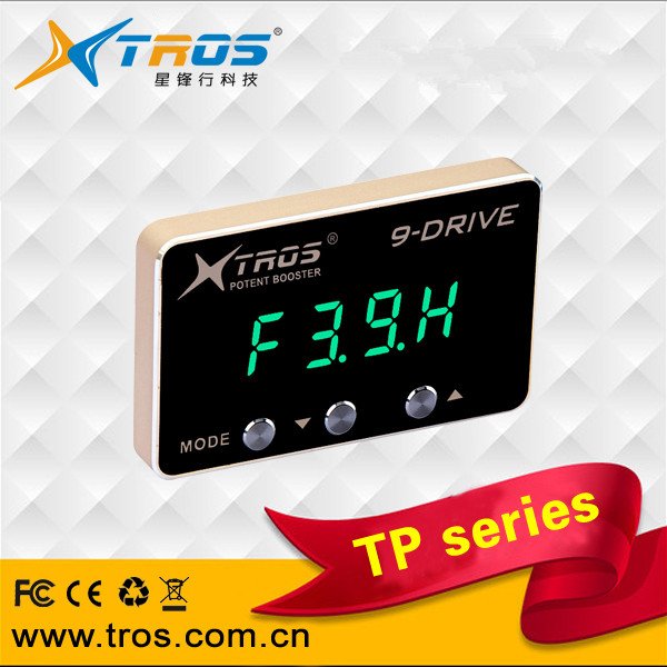 TP-151L potent booster 9 drive electronic throttle controller for PORSCHE Cayenne