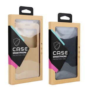 Kraft Paper Phone Case Packaging Boxes Mobile Phone Cases Paper Packing Box For iphone 4.7 inch 5.5inch