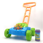 amazon hot sale Push Toys Electronic Lawn Games Outdoor Walker Bubble Blower Machine for Kids Toddlers