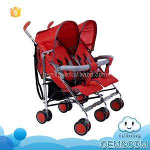 New standard comfortable baby design stroller twins