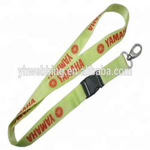 Dongguan excellent producers mass promotion of green lanyards