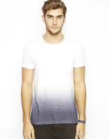 Mens Technical Tie Dye Printed T-Shirt