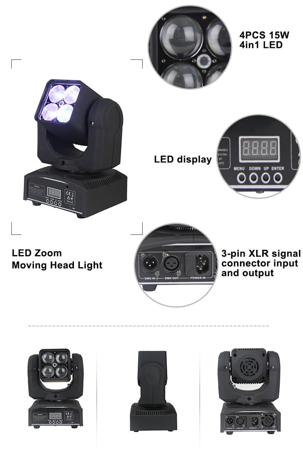 90W Zoom Moving Head Light
