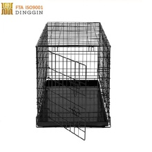 china factory metal foldable pet cage