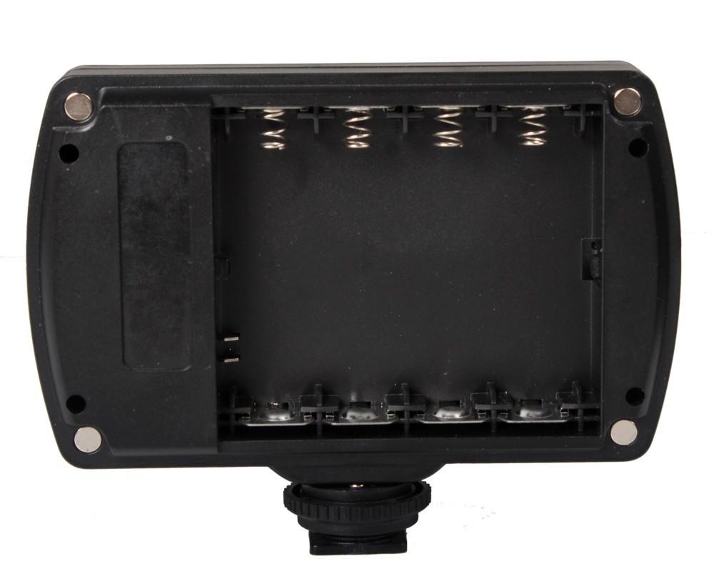 96 из светодиодов 9 Вт фото камеры видео горячий башмак из светодиодов лампы освещения для видеокамеры DSLR свадьба