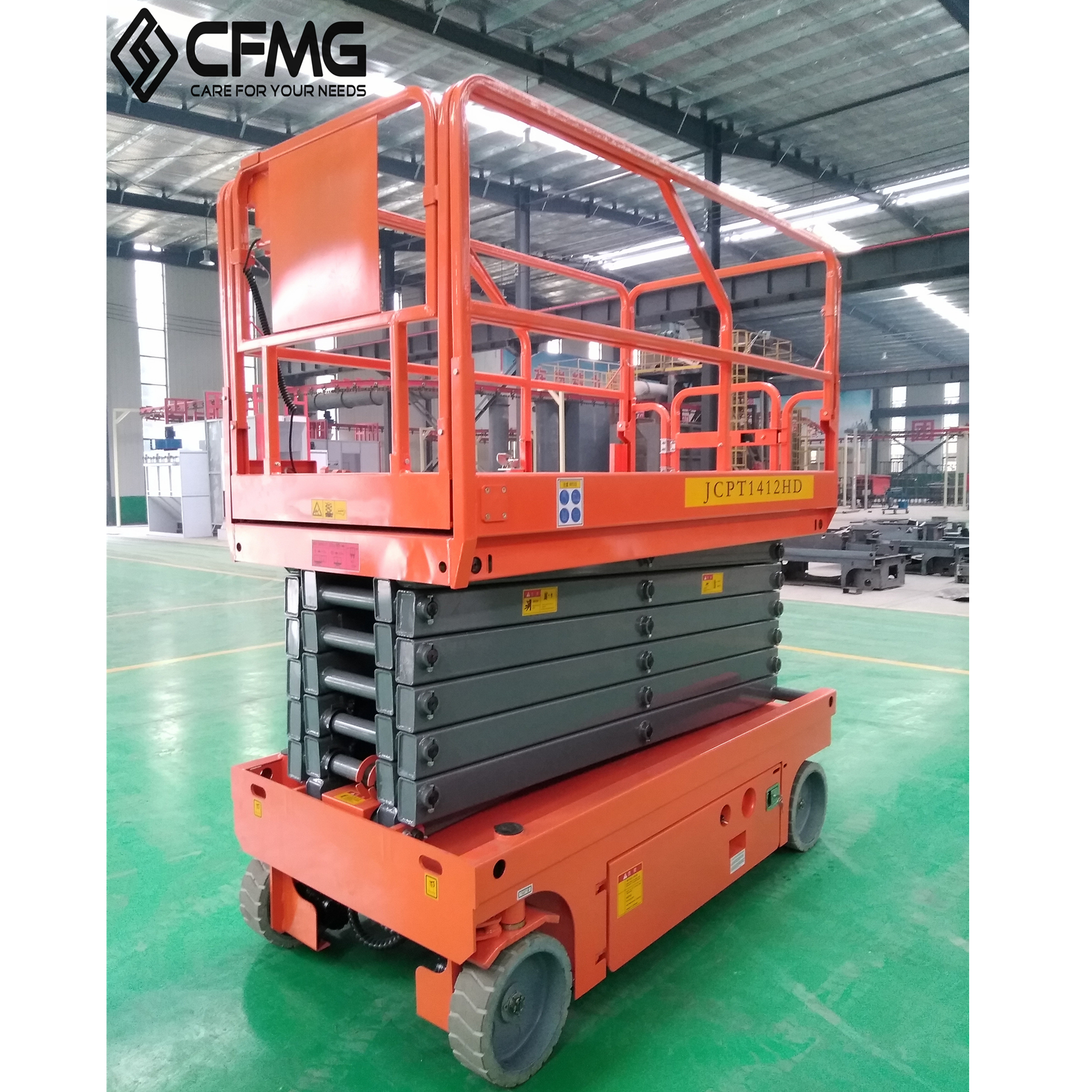High quality custom customized hydraulic scissor lift With Recycle System
