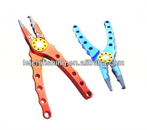 Top quality aluminum fishing cutting tools pliers