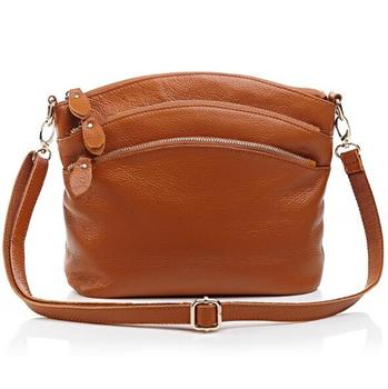 Wholesale Custom Fashion Women Leather Sling Crossbody Bags Small Cute Long Strap Shoulder Bag For Lady
