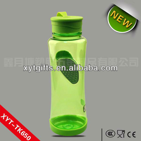 A granel recyclable plastic water bottle para corredor