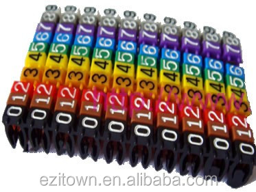 Kn Pom Customized Colorful Plastic Electrical Cable