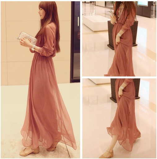 5ff9f9973e Turmec » casual maxi dresses with long sleeves
