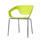 Mattlife durable metal plastic dining chair