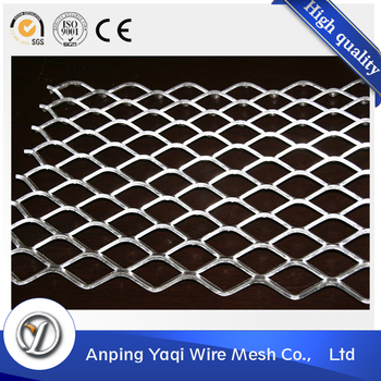 Low Carbon Diamond Shape Steel Expanded Metal Mesh - Buy Expanded ...