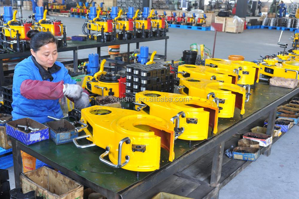 Hot sale XQ114/6YB hydraulic power tong drilling tools used for oilfield project