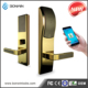Changzhou electronic rfid hotel key card door lock with software and encoder