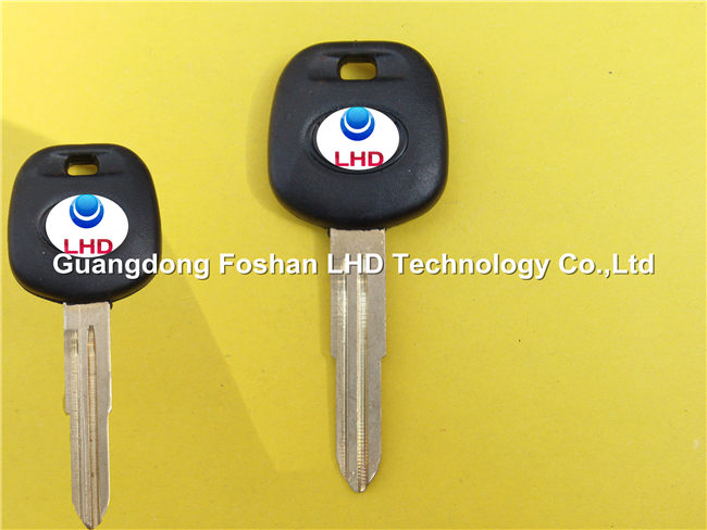 New Replacement Uncut Ignition Chip Car Key with 4C Transponder for Toyota Corolla