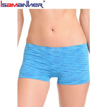 Woman boyshorts boxer shorts private label for girls