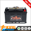 KING POWER Rechargeable Lead Acid 12V75AH DIN75MF car battery
