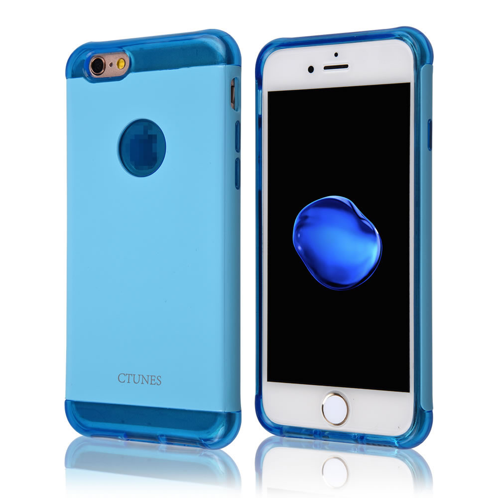 C&T Armor Shield Dual Layer Hard PC Cover + TPU Inner Hybrid Case For Apple iPhone 6
