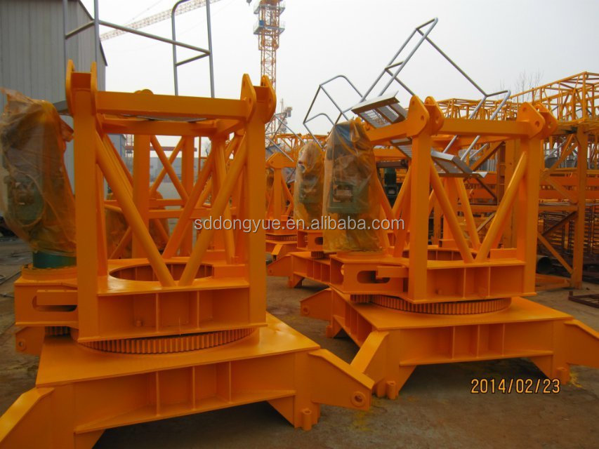 widely used zoomlion tower crane with CE certificate
